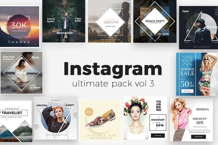 Pack ultime d'Instagram