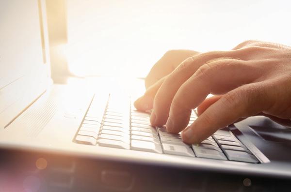 Écrire avec un ordinateur