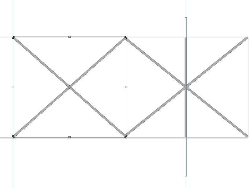 Créer une autre copie des lignes X