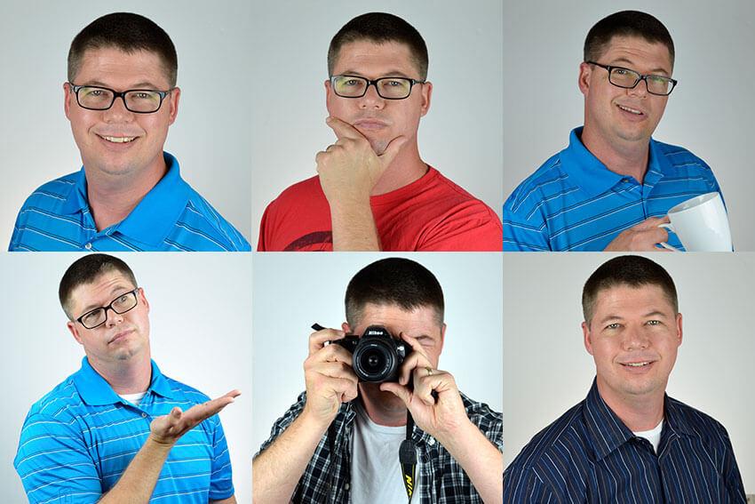 Créez plusieurs poses d'image de profil amusantes