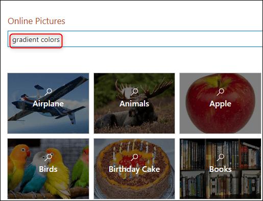 Rechercher des images dans Bing