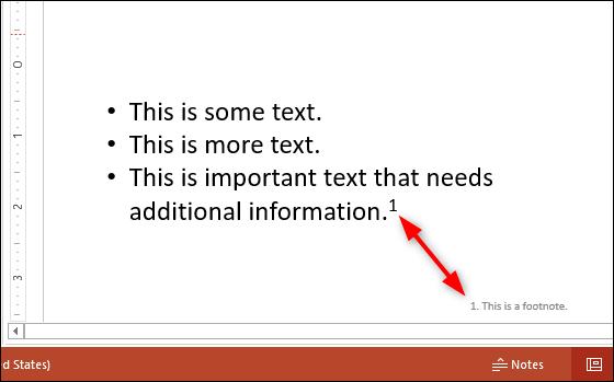 Exemple de note de bas de page