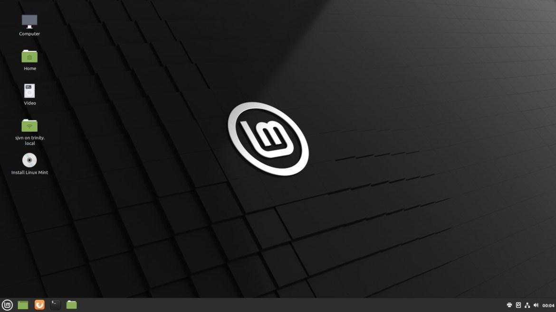 Vous pouvez exécuter Mint à partir d'une clé USB externe.