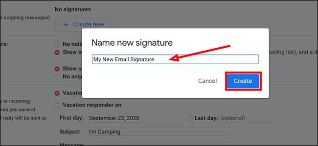 Tapez un nom pour votre signature
