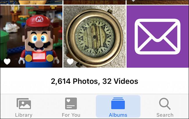 Beispiele für benutzerdefinierte Bilder in iPhone-Fotos.
