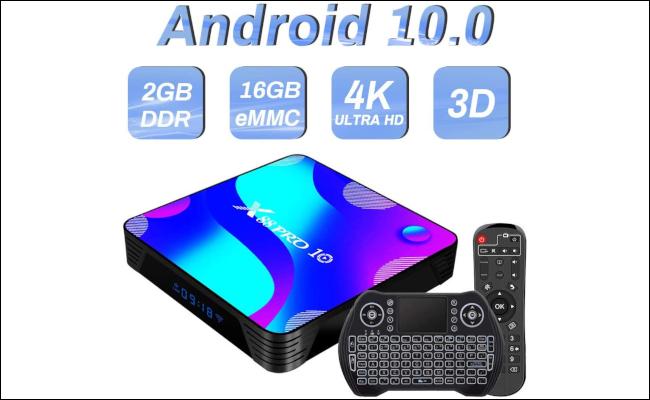 Un décodeur TV Android.