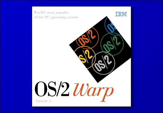 Logo IBM OS / 2 Warp 3.0