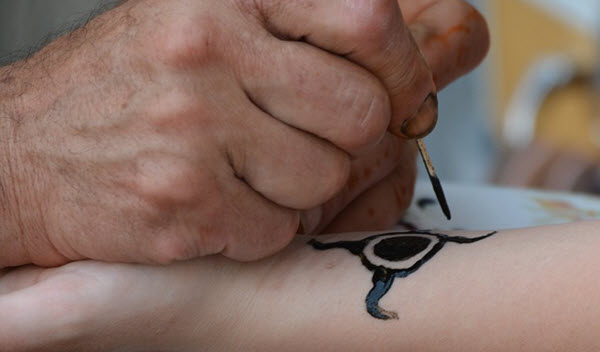 faux-tatouage