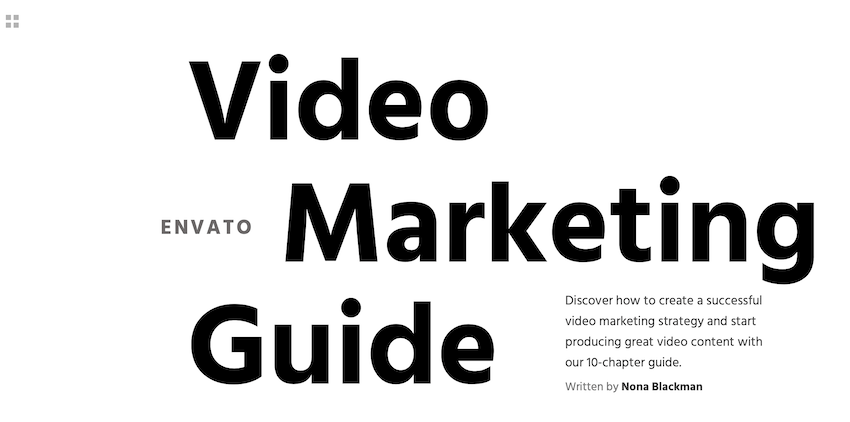 Guide de marketing vidéo