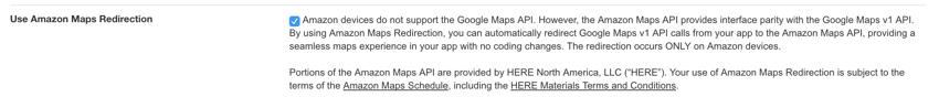 Amazon Appstore - Redirection Amazon Maps