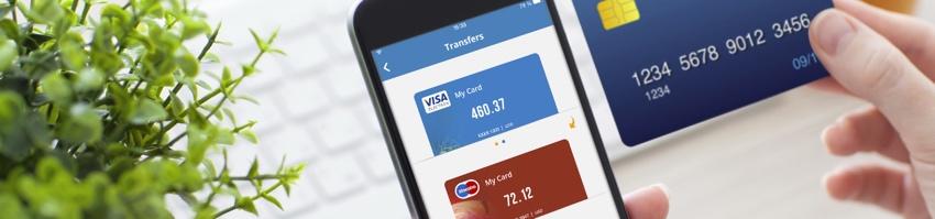 Développement mobile économique de ScienceSoft - Capture d'écran de l'application mobile bancaire