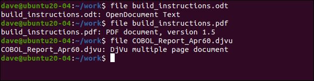 fichier build_instructions.odt dans une fenêtre de terminal.