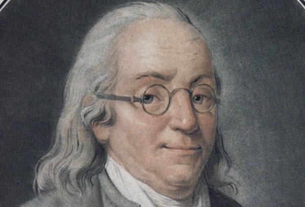benjamin franklin a inventé les lunettes