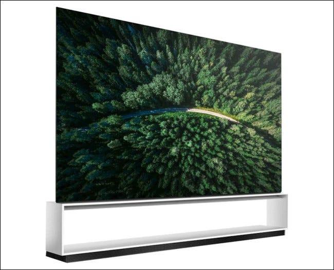 Téléviseur 8K LG OLED série Z9 de 88 po