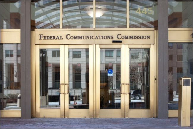 La sede de la FCC en Washington, DC.
