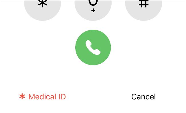 Afficher l'identifiant médical sur un iPhone
