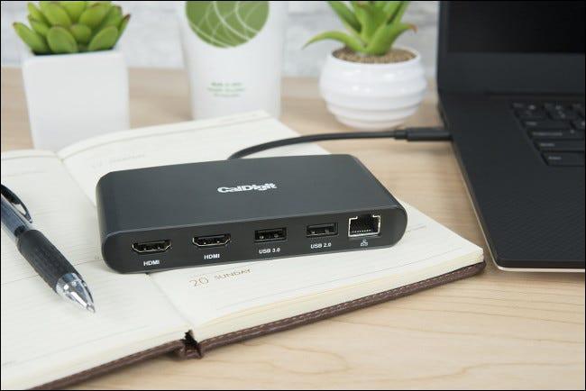 Concentrateur CalDigit Dual HDMI Thunderbolt 3