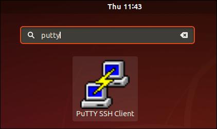 Das PuTTY-Symbol