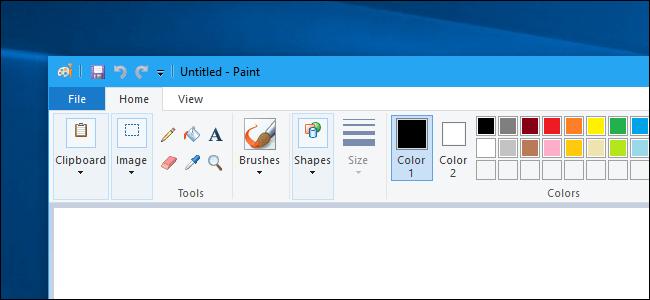 MS Paint su Windows 10