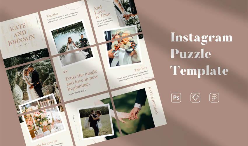 Puzzle Instagram
