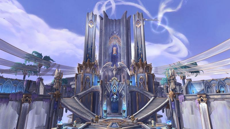 Elysian Hold comme on le voit dans World of Warcraft.  (Image via resetera.com)