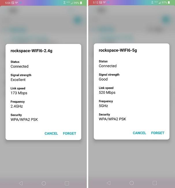 Examen du routeur Rock Space Ax1800 Wi-Fi 6 après