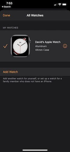 Changer Apple Watch Iphone Dissocier la montre