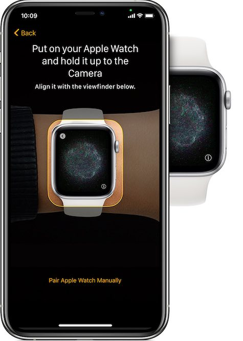 Changer l'écran de configuration de l'Apple Watch Iphone