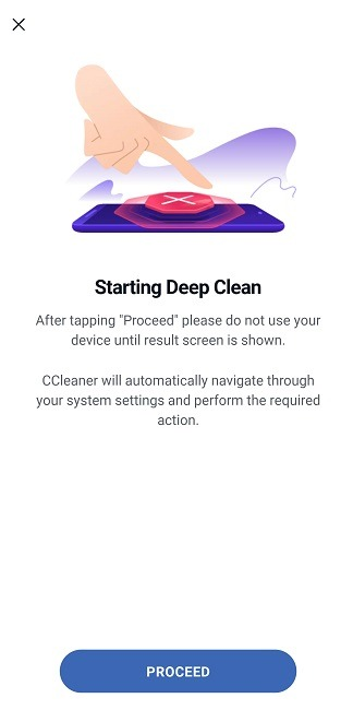 Comment effacer le cache Android Ccleaner Deep