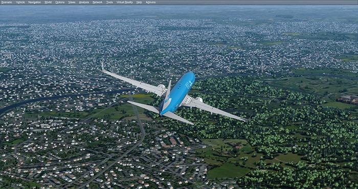 Configurer Flight Simulator Uk