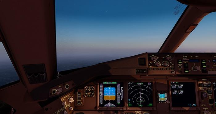 Configurer Flight Simulator 777