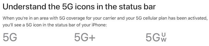 Icônes Iphone 12 5g Icônes de site Web Apple