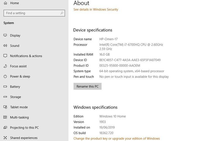 L'application Photos ne fonctionne pas Windows 10 Media Pack