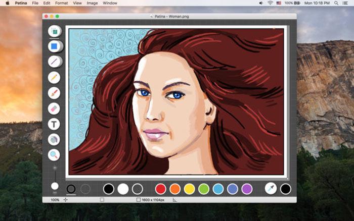 Applications de dessin simples Mac Patina