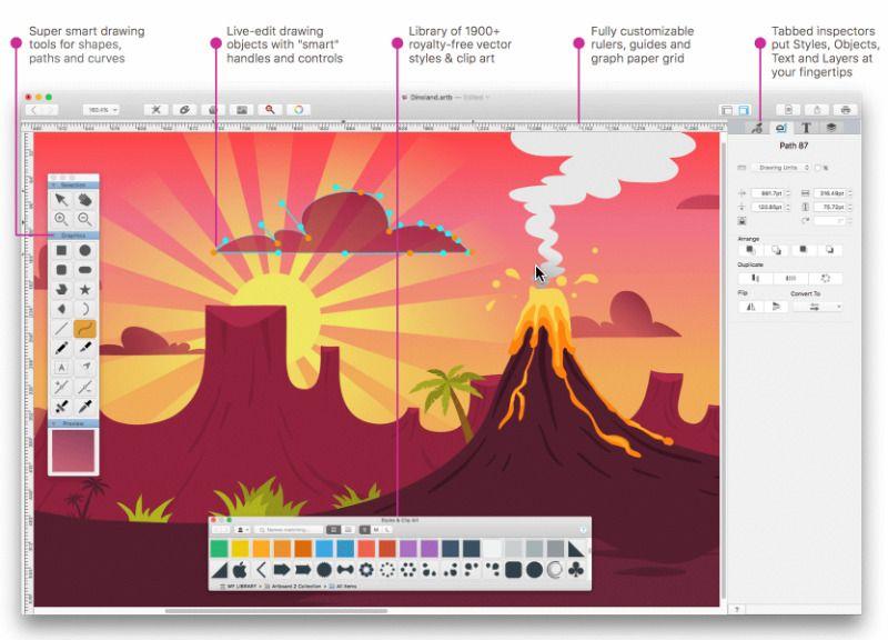 dessin-applications-pour-mac-artboard