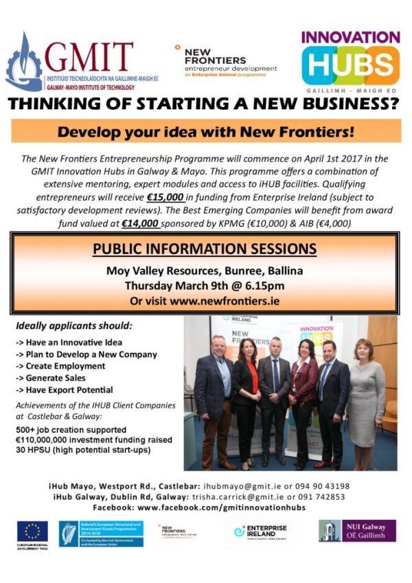 New Frontiers Entrepreneurship Programme