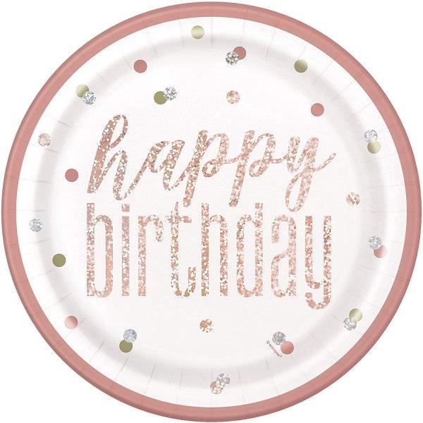 Piatto Happy birthday