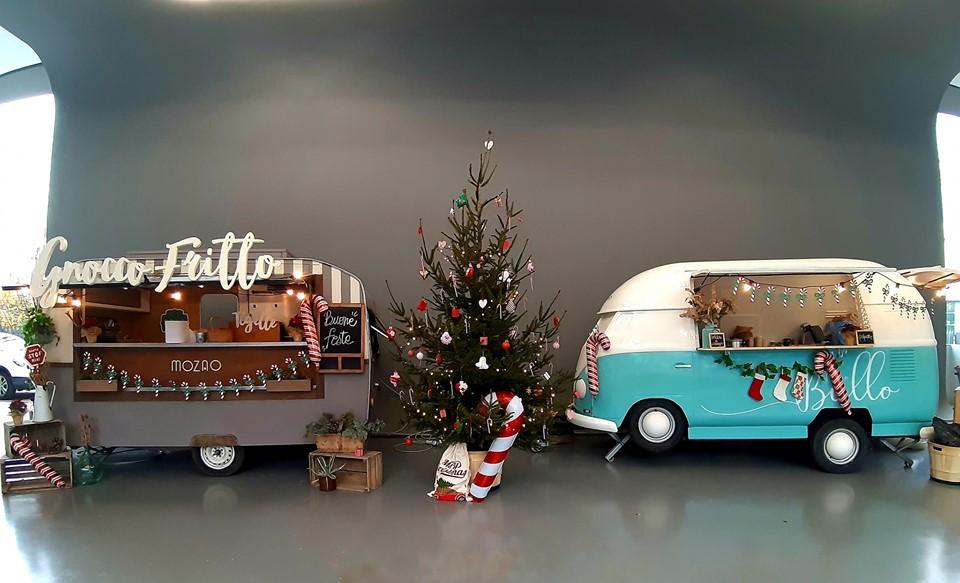 Catering Aziendale di Natale per Mercedes