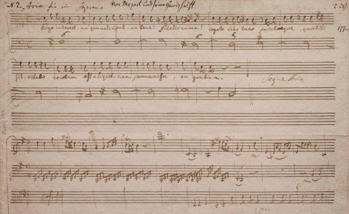 K 143 Recitativo e aria per soprano