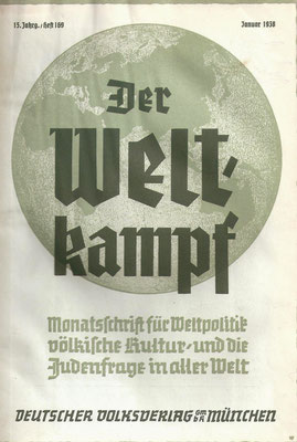 Damisch scrive sul Weltkampf, qui in immagine