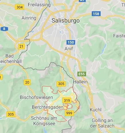 Berchtesgaden, vicino a Salisburgo