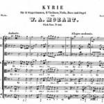 K 116 Missa Brevis edizione Breitkopf