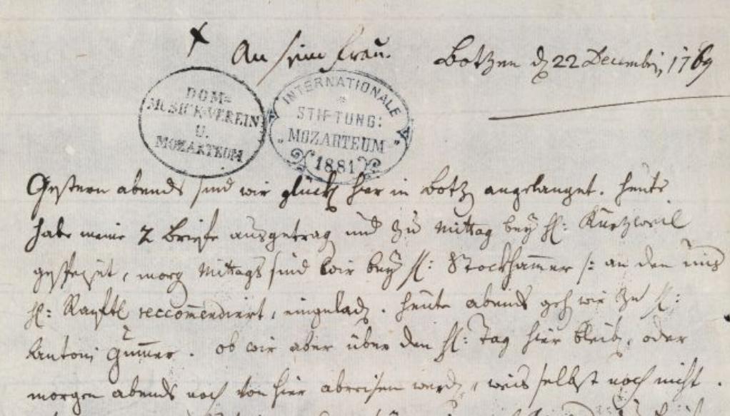 22 dicembre 1769