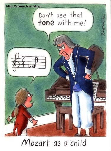 Image result for mozart cartoon