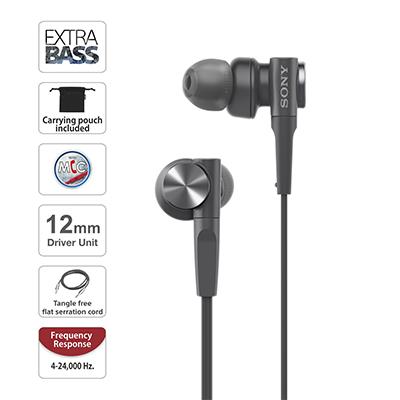 Sony MDR-XB55AP black