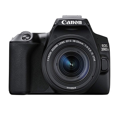 canon Eos 200d dslr camera with 18-55 stm lens