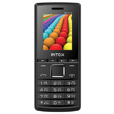 Intex Eco Beats | Black Grey | Dual Sim