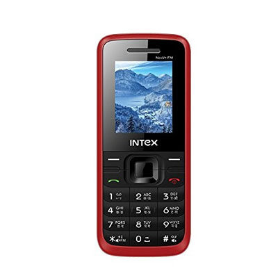 Intex Neo V FM (Dual Sim) (Black-Red) OPEN BOX