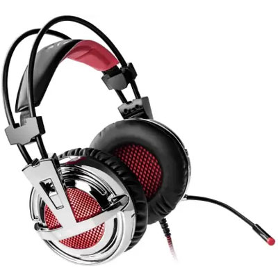 Zebronics Orion Wired Headset Gaming Headphone (Black, On the Ear)