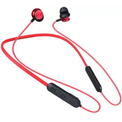 Zebronics ZEB-SLINGER Bluetooth Headset Red